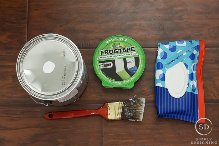 Tips for Painting Baseboards Flawlessly supplies