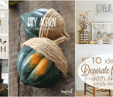 Decorate for Fall with Nature