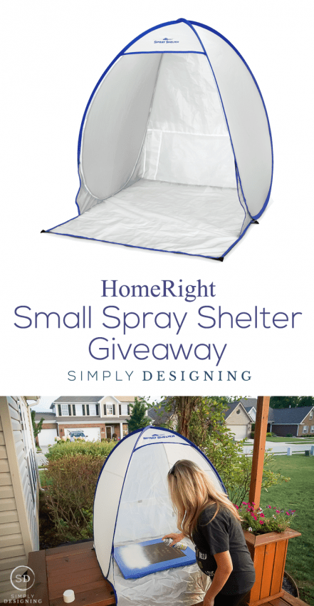 HomeRight Small Spray Shelter Giveaway