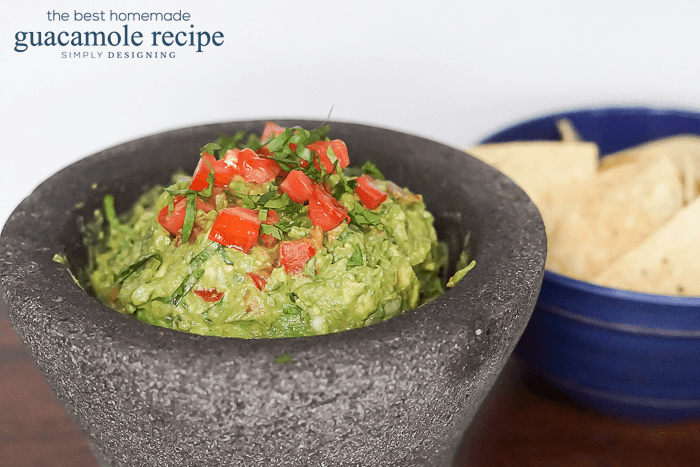 The Best Homemade Guacamole Recipe