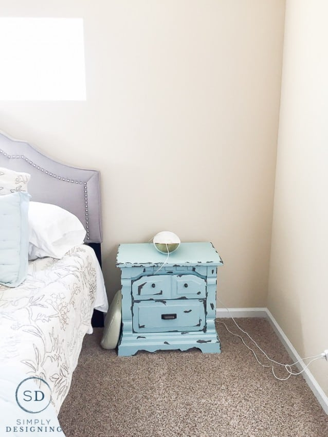 nightstand makeover before