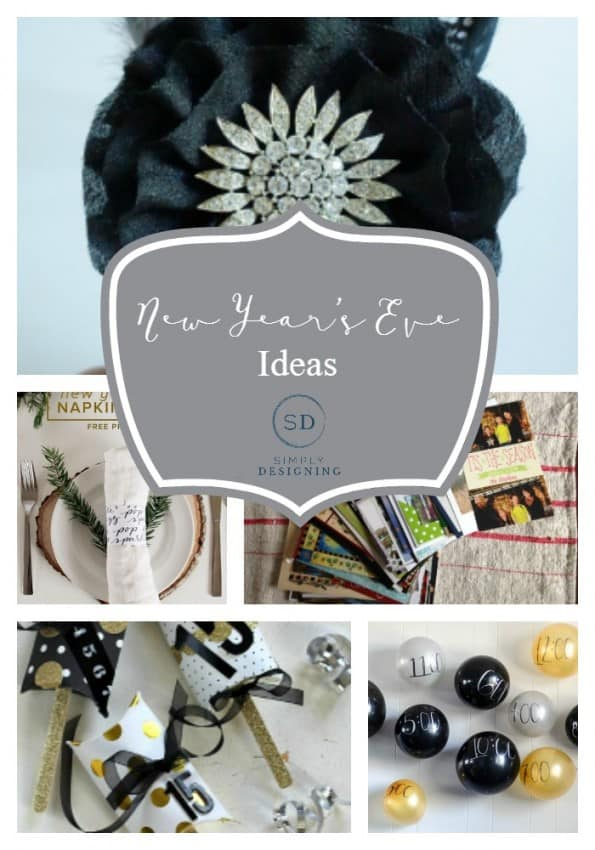 New Year's Eve Ideas - Simply Designing