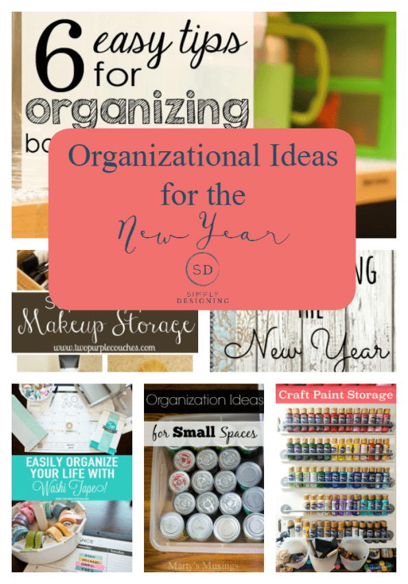Organizational Ideas for the New Year - Simply Designing