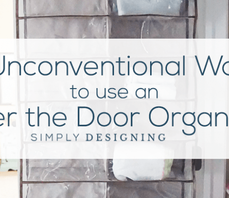 3 Unconventional Ways to use an Over the Door Organizer hor