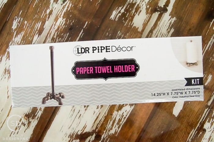 LDR Pipe Decor Kit - Paper Towel Holder