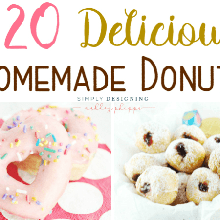 20 Delicious Homemade Donuts