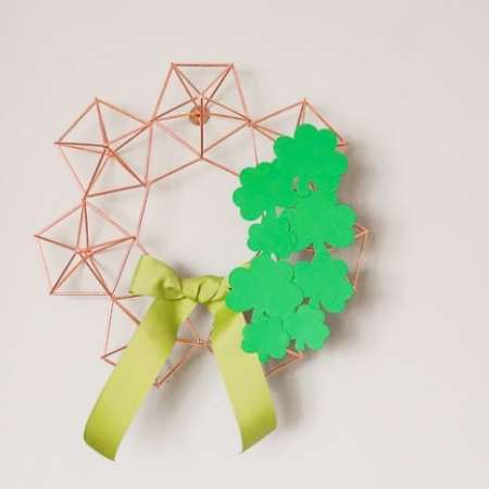 St. Patrick's Day Himmeli Wreath
