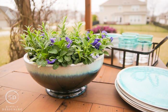 Farmhouse Planter Bowl