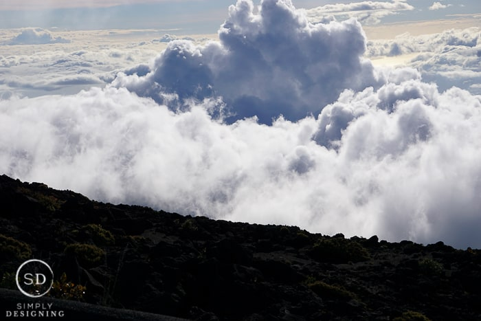 Maui Hawaii - Haleakala Crater