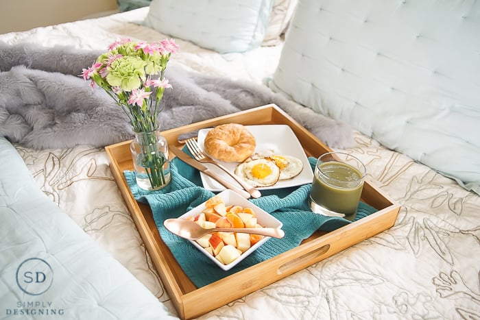 Breakfast in Bed for Mother's Day