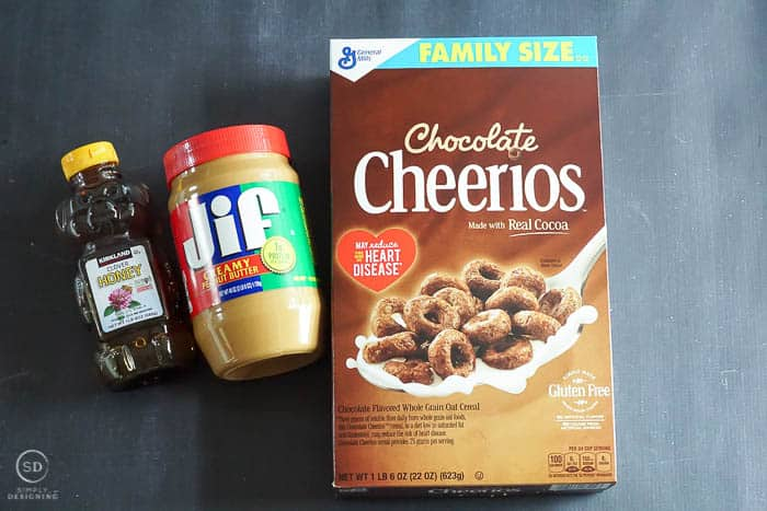 How to make Chocolate Peanut Butter Cereal Bars