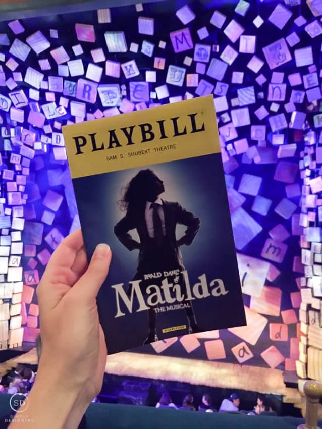 Matilda on Broadway NYC