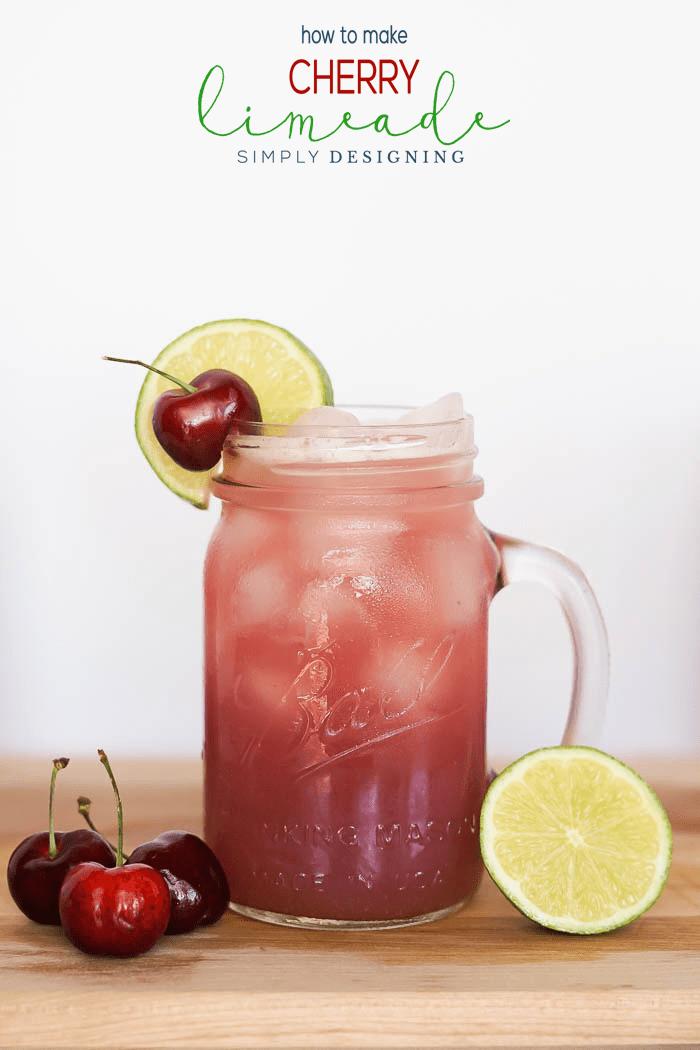 Homemade Cherry Limeade Recipe