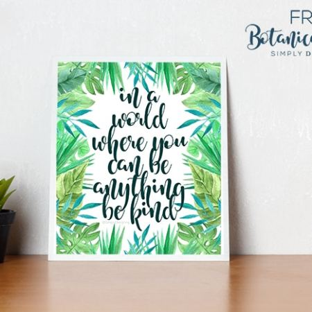 FREE Botanical Prints for Home Decor to Download
