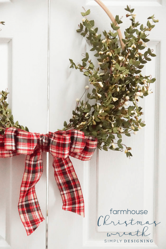 how to make a simple bow for a wreath