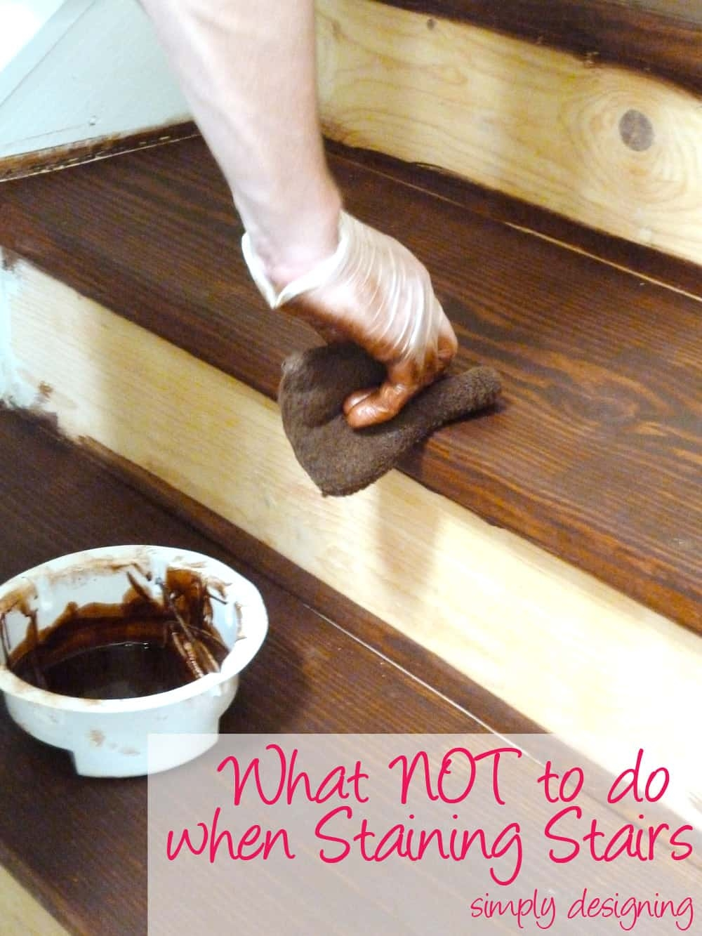 Staircase Make Over Part 2 Mistakes To Avoid And How To Do It Right   Best Wood For Indoor Stairs   Hardwood   Stair Parts   Stair Case   Glass   Red Oak