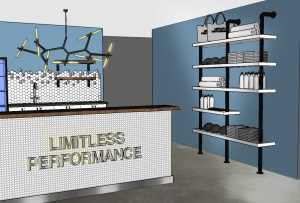 limitless performance artist rendering entrance