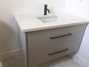 ideas and inspiration - floating vanity