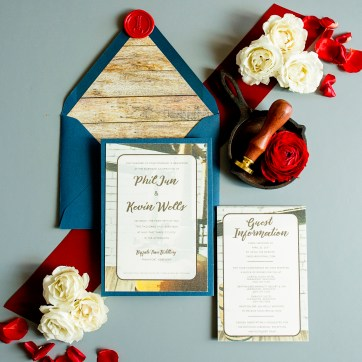 Woodford Reserve Wedding Invitation
