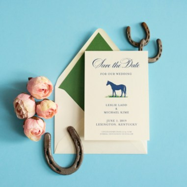 Horse Save the Date