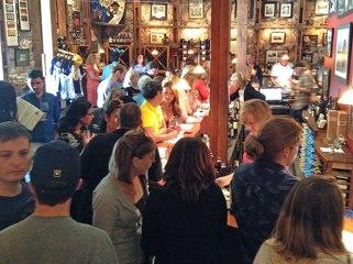Dog friendly wineries Sonoma Valley Gundlach Bundschu tasting bar Simply Driven