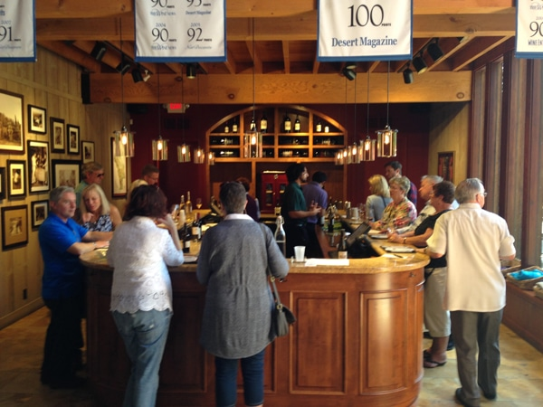 Rutherford Hill dog friendly wineries tasting bar simply driven