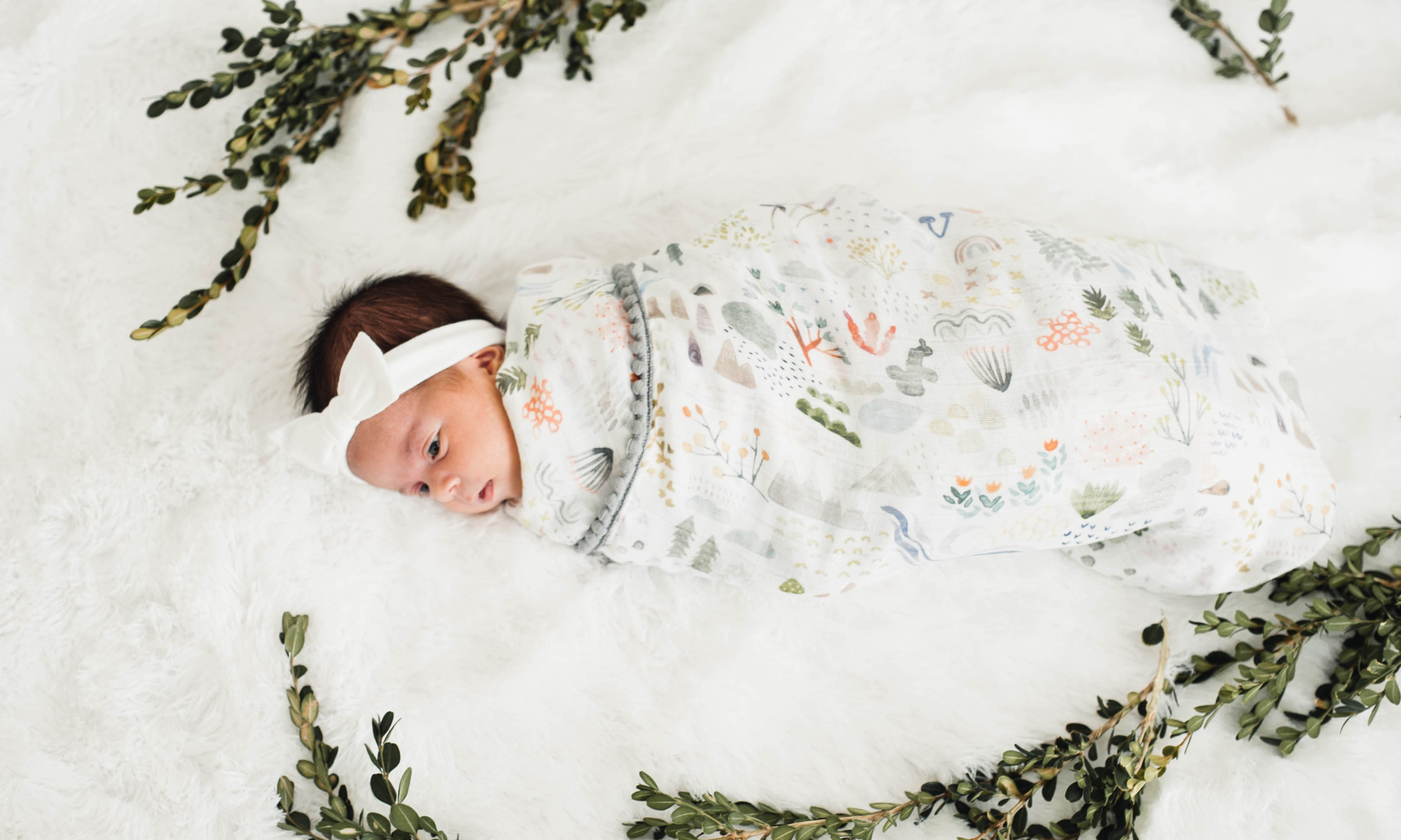 Sewing tutorial: DIY swaddle blanket