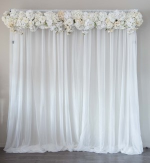 Backdrop rentals for wedding party events in jacksonville simply silk flower backdrop rentals mightylinksfo