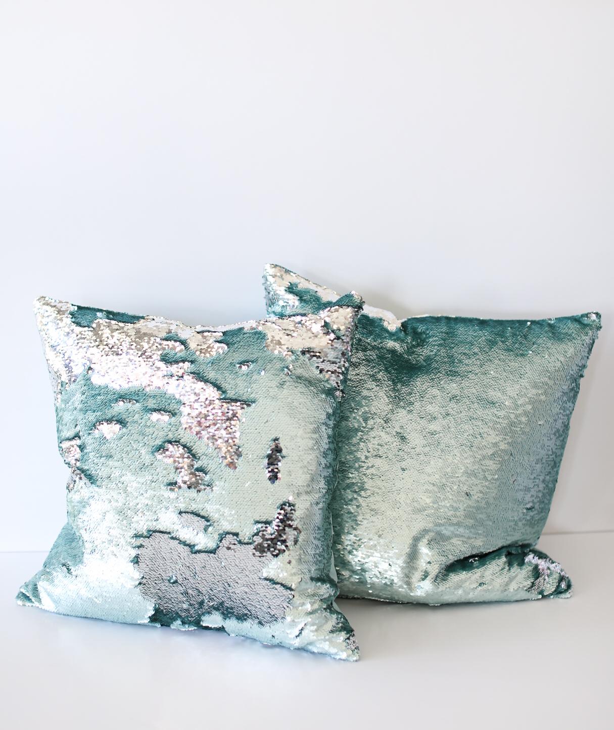 tiffany sequins pillows | Simply Elegant | Wedding Rentals ...