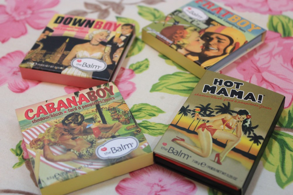 My Blush Collection featuring TheBalm's Boys and Hot Mama (1/6)