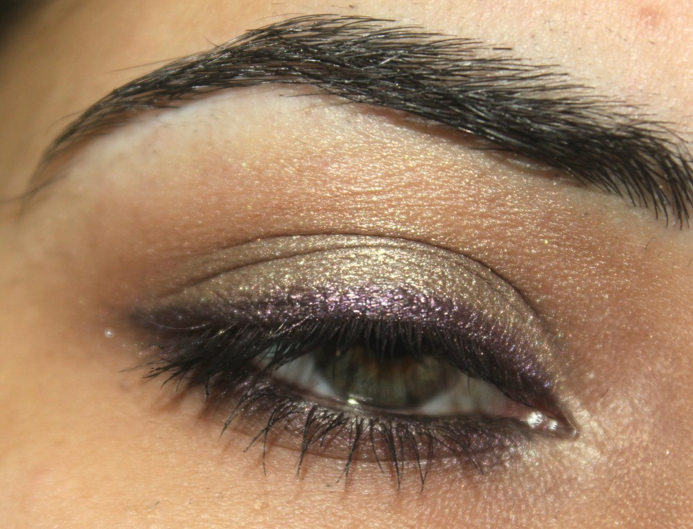 Purple Lined Taupe Eye Look (3/3)