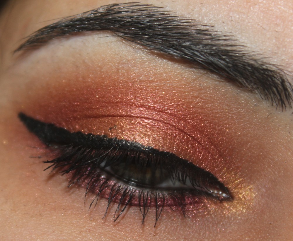 INGLOT Eyeshadows : Sunset Inspired Eye Look (2/3)