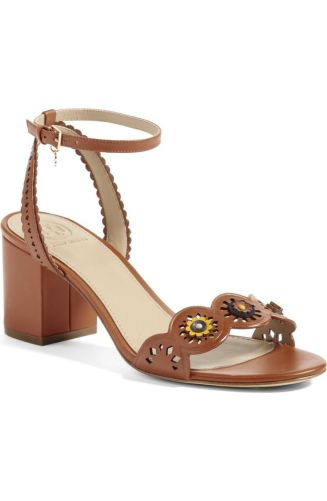 Tory Burch loves adding the cutest touch to their simple looks. Perfect for the Spring weather, the light embellishments add a twist to the simple strap shoes. http://shop.nordstrom.com/s/tory-burch-marguerite-sandal-women/4597748?origin=category-personalizedsort&fashioncolor=ROYAL%20TAN