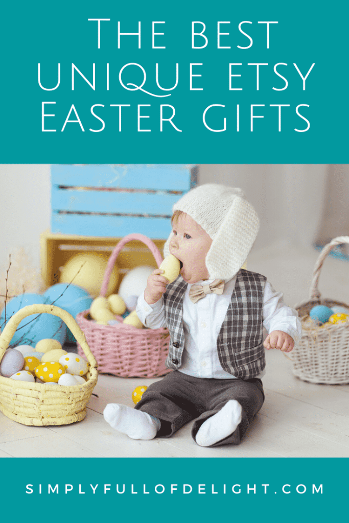 The Best Unique Etsy Easter Gifts - 23 Easter Basket Gift ideas for your kids!  #uniquegifts #easter #etsy #etsyeastergifts