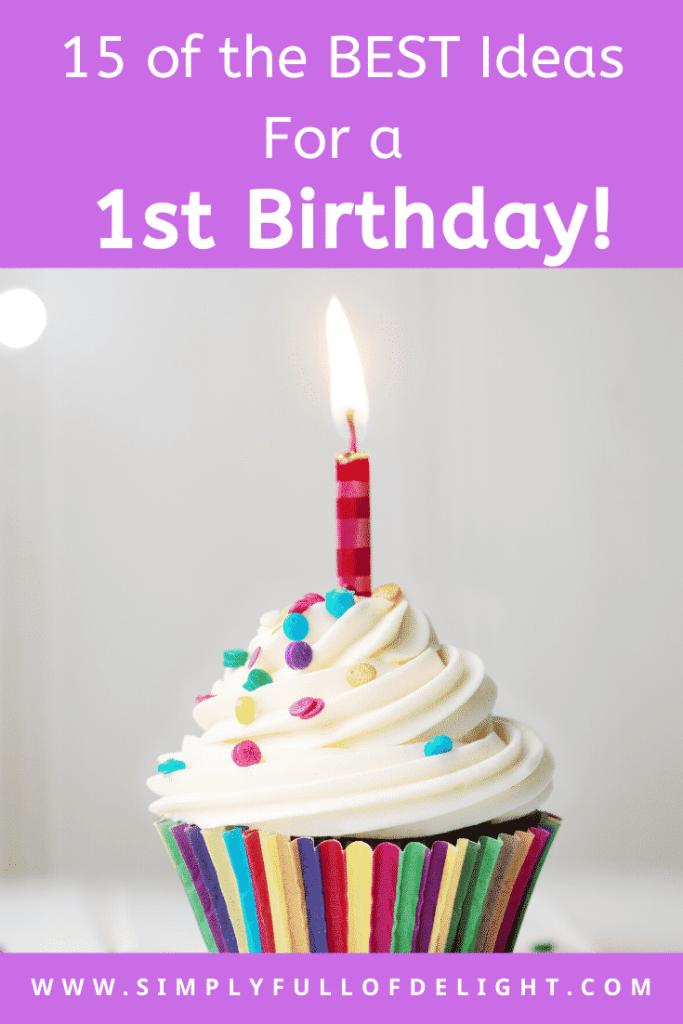 15 Of the Best Ideas of a 1st Birthday - Discover 15 themes that are absolutely perfect for this BIG 1 birthday!  #firstbirthday #1stbirthday #partyideas
