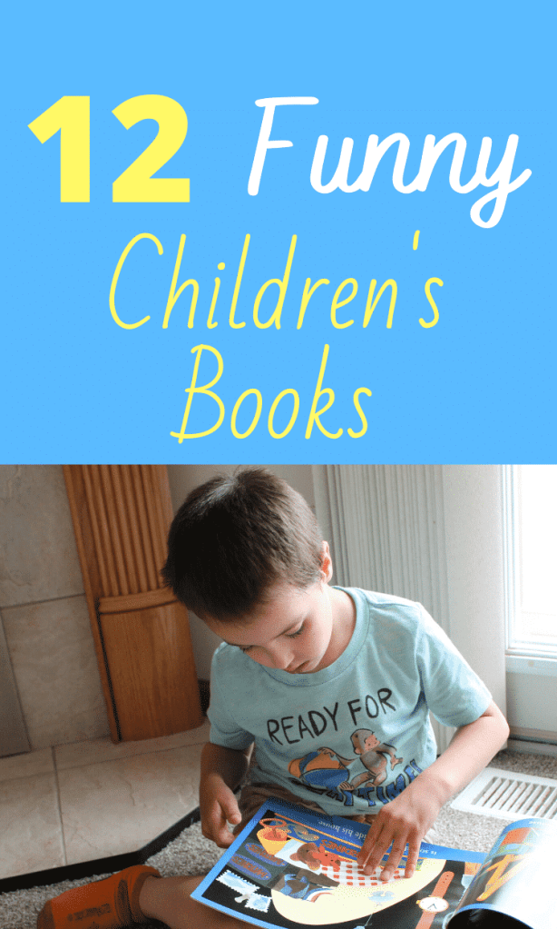 12 Funny Books for Kids - Humorous Read alouds