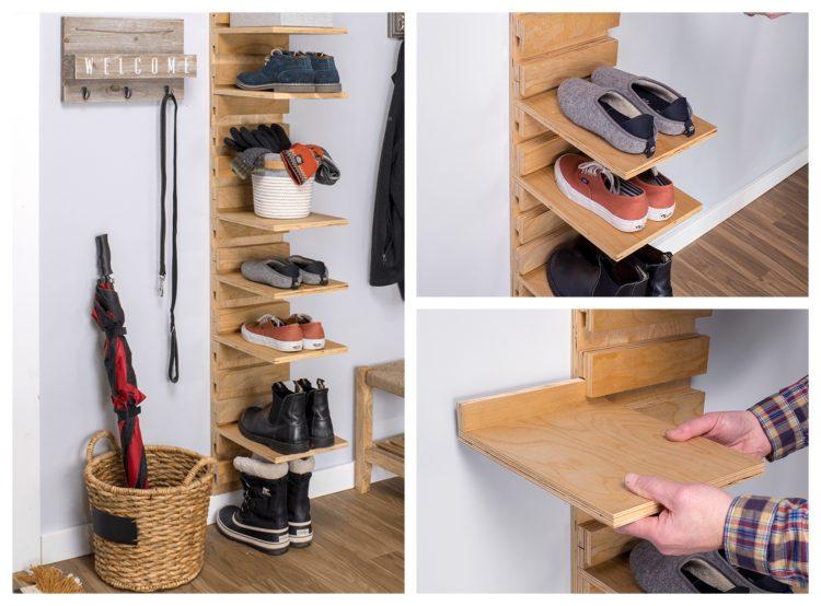 21 easy and cheap diy shoe rack ideas