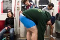no pants subway ride 20142