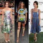 Celebrities-Mary-Katrantzou-Dresses