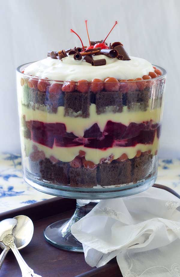 Forest Trifle Recipe Easy Black