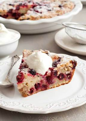 Image result for crustless cranberry pie