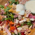 Chef Salad with Creamy dressing