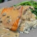 Sauteed Salmon with Piccata Sauce