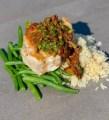 Swordfish with Puttanesca sauce