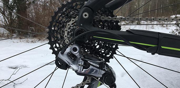 Bild på cykel