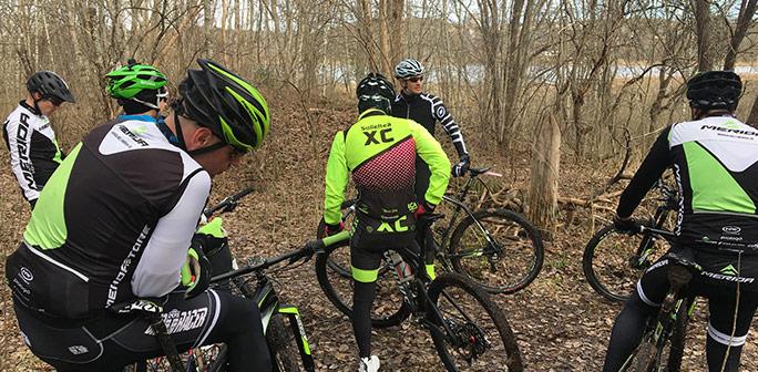 Team-träff och cykelmässa