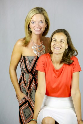 Angela and Bridgette at To Be Simply Happy