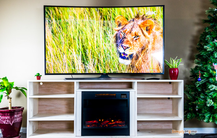 Simple Diy Tv Stand How To Make Your Own 72 Stand With Fireplace