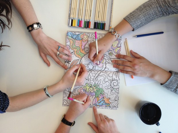 eco-friendly adult coloring