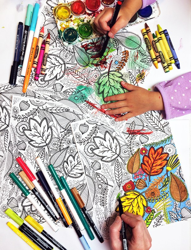 free-fall-coloring-page